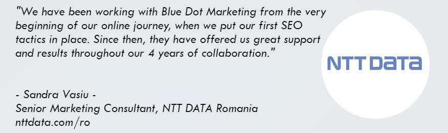 NTT DATA testimonial